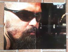 poster affiche revue magazine français Rock SLAYER 56x42cm