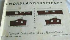 Norwegian Booklet: Nordlandshyttene Presented by Sjovegan Snekkerifabrikk