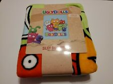"UGLY DOLLS Super Soft Silk Throw Blanket (40"" x 50"") NEW"