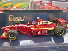"Minichamps 1/18 Williams FW20 Mechachrome - Jacques Villeneuve 1998 ""Winfield"""