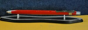 """CRITERIUM""  2613  CONTE   FRENCH RED&CT 2.0 mm MECHANICAL PENCIL VTG c.1961's"