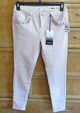 Women's Kensie jeans size 29 jewels around pocket evening sand new NWT $98