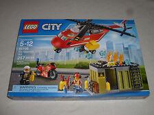 New In Box Lego City Fire Response Unit 60108 Set 257 Pcs Ages 5-12