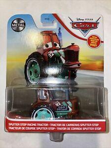 Disney Cars Pixar Metal SPUTTER STOP RACING TRACTOR