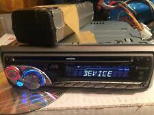 JVC KD-BT11 AUX IN BLUETOOTH ENTERTAINMENT MUSIC STREAM AUX CD WECHSLERSTEUERUNG
