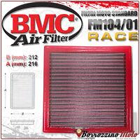FILTRO DE AIRE BMC RACE LAVABLE FM104/01 DUCATI SPORT TOURING ST3 S 2007