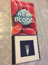 PETER GABRIEL New Blood Live in London DVD +BONUS Shaking The Tree (Best Of) CD!