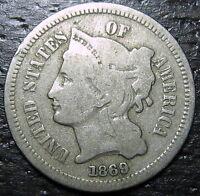1869 3 Cent Nickel Piece  --  MAKE US AN OFFER!  #R6632