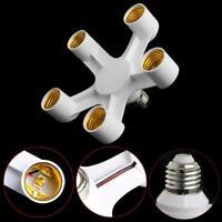 3/4/5 E27 Base Socket Splitter LED Light Lamp Bulb Adapter New Converter Ho H3Q2
