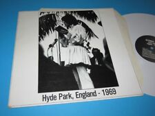 The Rolling Stones / Hyde Park, England - 1969 - White Wax LP