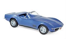 189035 Norev 1:18 Chevrolet Corvette Convertible 1969  Blue metallic