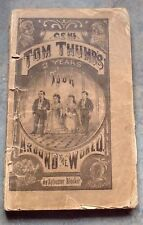 Gen Tom thumbs Three Years Tour Around the World w Wife by S Bleeker 1872 1st Ed