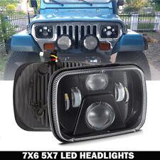 7X6 5x7 120W LED Headlight Hi/Lo Beam For Chevy Express Cargo Van 1500 2500 3500