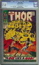 THOR #139 CGC 7.0 OW/WH PAGES