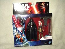 Action Figure Star Wars The Force Awakens Edition Darth Vader Ahsoka Tano 4 inch