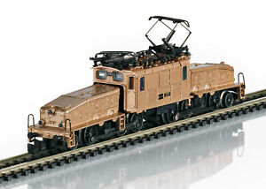 Marklin Z 88565 SBB cl Ce 6/8 III Crocodile Electric Locomotive in Real Bronze