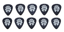 Nickelback Lot of 10 Black Guitar Picks - 2012 Here And Now Tour