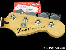 "2017 Fender Standard Jaguar BASS NECK & TUNERS Bass Guitar 9.5"" Radius Pau Ferro"