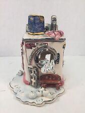 Blue Sky Clayworks Heather Goldminc Pinkeys Coin Launderette Tea Light Holder