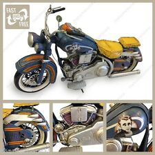 Tin Plate Model Harley Davidson Motorbike Ornament Gift James Dean Livery