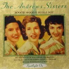 Andrews Sisters   CD   Boogie woogie bugle boy (compilation, 16 tracks)