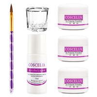 Pro Manicure Set Acrylic Manicure 3Pcs Acrylic Powder Nail Kit Acrylic Liquid
