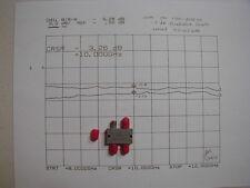 Omni Spectra X band (8-12 GHz) SMA Quadrature Coupler NOS