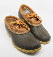 Bean Boots by LL Bean, Two-Eye Gumshoes-Leather, Size 10M, #504729