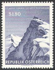 Austria 1961 Weather/Meteorology/Observatory/Mountains/Nature 1v (n42679)