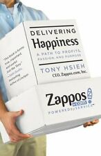 DELIVERING HAPPINESS, by CEO of Zappos TONY HSIEH (HARDCOVER) Brand New