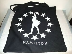 Hamilton The Musical Official Merchandise Broadway Tote Bag Tote.