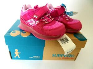 Girls' Surprize by Stride Rite Ardo Light-up Sneaker Pink, Size: 4