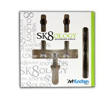 SK8OLOGY - Skateboard Deck Display & Drill Bit Set  - Wall mounted display