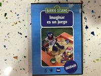 BARRIO SESAMO DVD IMAGINAR ES UN JUEGO COCO