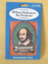 New Theatre Actor Dramatic William Shakespeare Spearmint Scent Air Freshener