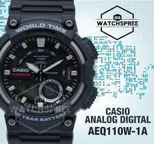 Casio Standard Analog Digital Watch AEQ110W-1A