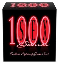 FUN & DESIRABLE 1000 SEX GAMES BY KHEPER GAMES