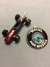 Hot Wheels Red Line 1969 Brabham Repco Fi with button pin clip
