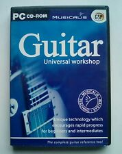 Guitar Universal Workshop Teaching System Educational Music for PC by Musicalis