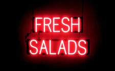 SpellBrite Ultra-Bright Fresh Salads Sign (Neon look, Led performance)
