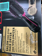 NEW Revlon PRO COLLECTION Salon One Step HAIR DRYER VOLUMIZER Ceramic Coating HQ