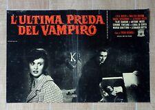 L'ULTIMA PREDA DEL VAMPIRO fotobusta poster The Playgirls Vampire Horror CZ28
