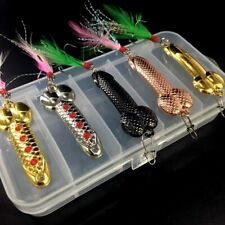 5Pcs/Box Penis Spoon Fishing Lures Metal Dick Bait Hook VIB Crankbait Lure Funny
