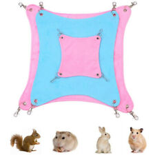 Cage Hammock Bed Animal Hamster Ferret Comfort Cage Hanging Nest Rat Swing Toys