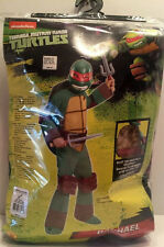 Nickelodeon Teenage Mutant Ninja Turtle Raphael Kid Halloween Costume Sz 8-10