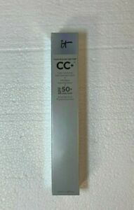 It Cosmetics CC+ Color Correcting Full Coverage SPF 50 Cream LIGHT 2.53 Oz