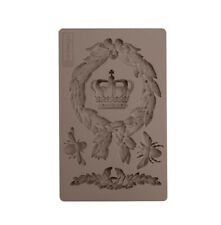 ROYALTY - RE-DESIGN Prima Decor Moulds Molds Food Safe Resin Crown Bee  #636401
