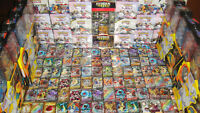 Pokemon 100 Card Lot : GUARANTEED Ultra or Secret & 1 Pack : Holos EX GX V Vmax