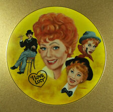 I Love Lucy The Lucille Ball Tribute Plate by Mike Hagel Tv Series Number 0584