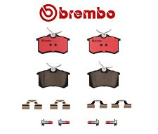 For VW Jetta Passat Audi A4 TT Quattro Rear Brake Pad Set Ceramic Brembo P85020N